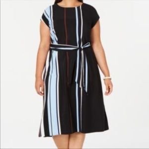 NWT Alfani All Day Midi Dress Size 16W